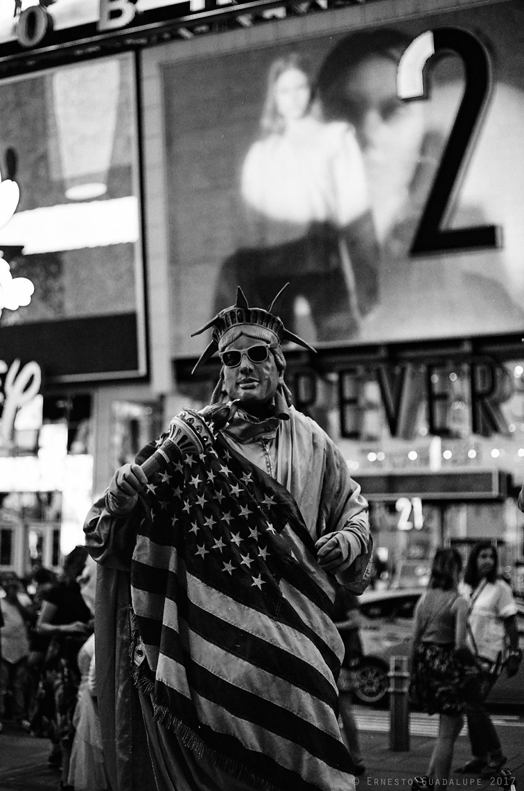 Times Square Lady Liberty